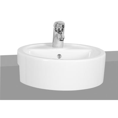 M-Line Round Semi-Recessed Basin