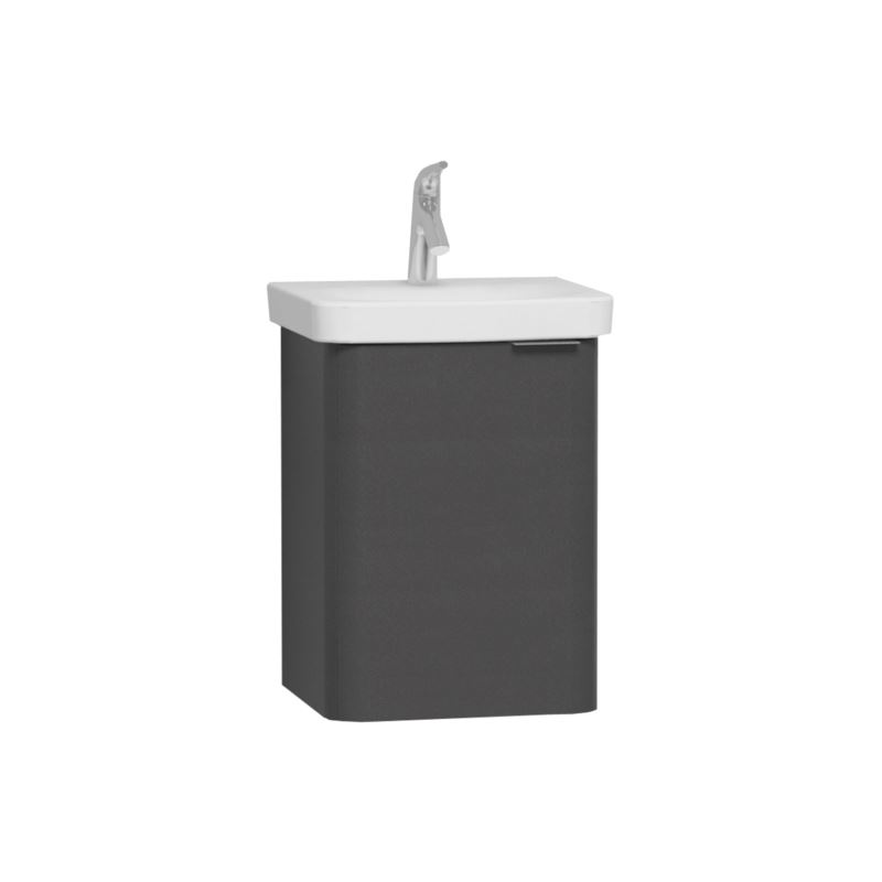 Nest Cloakroom Washbasin Unit 45 cm, Anthracite, compatible with 5680 washbasin