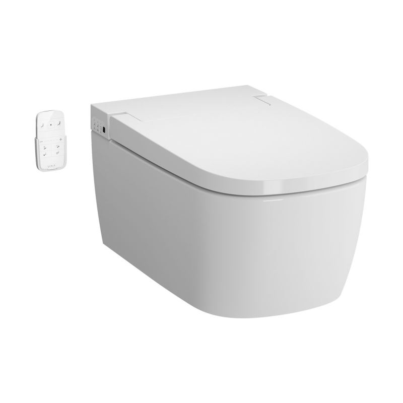 V-Care Smart WC Essential model, White, 60 cm, Wall-Hung, Rim-ex