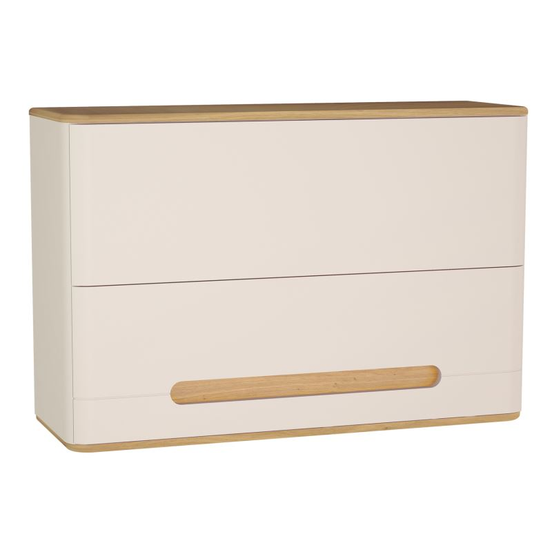 Sento Wall Cabinet 105 cm, Matt Cream