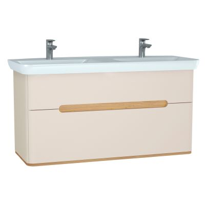 Sento Double Washbasin Unit