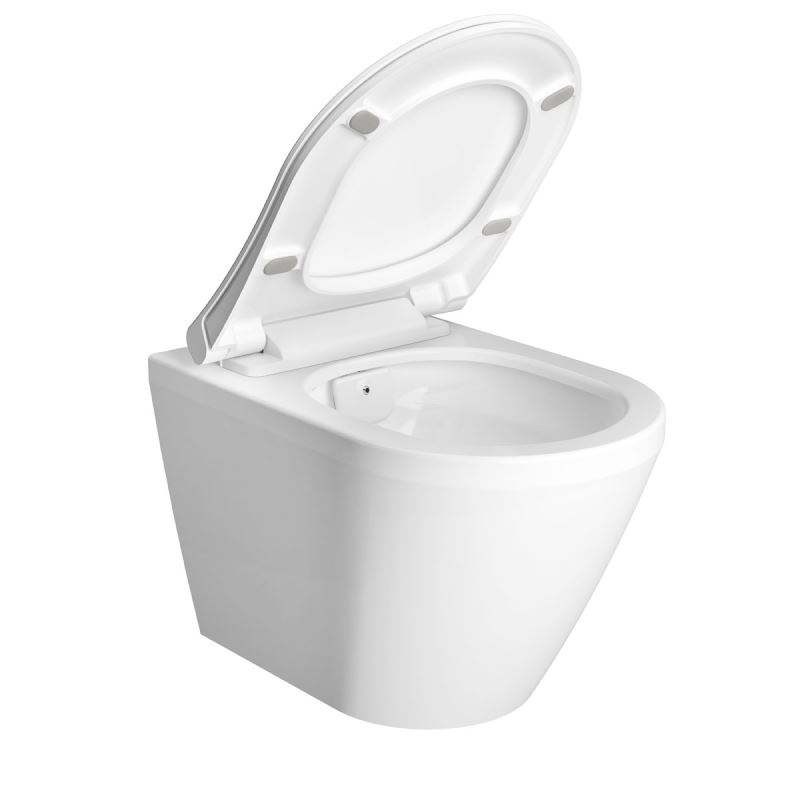 Integra Aquacare Wall-Hung WC With Bidet Function, 54 cm, White