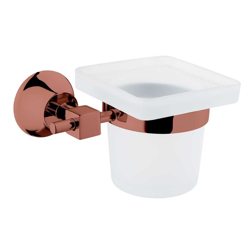 Juno Toothbrush Holder Copper
