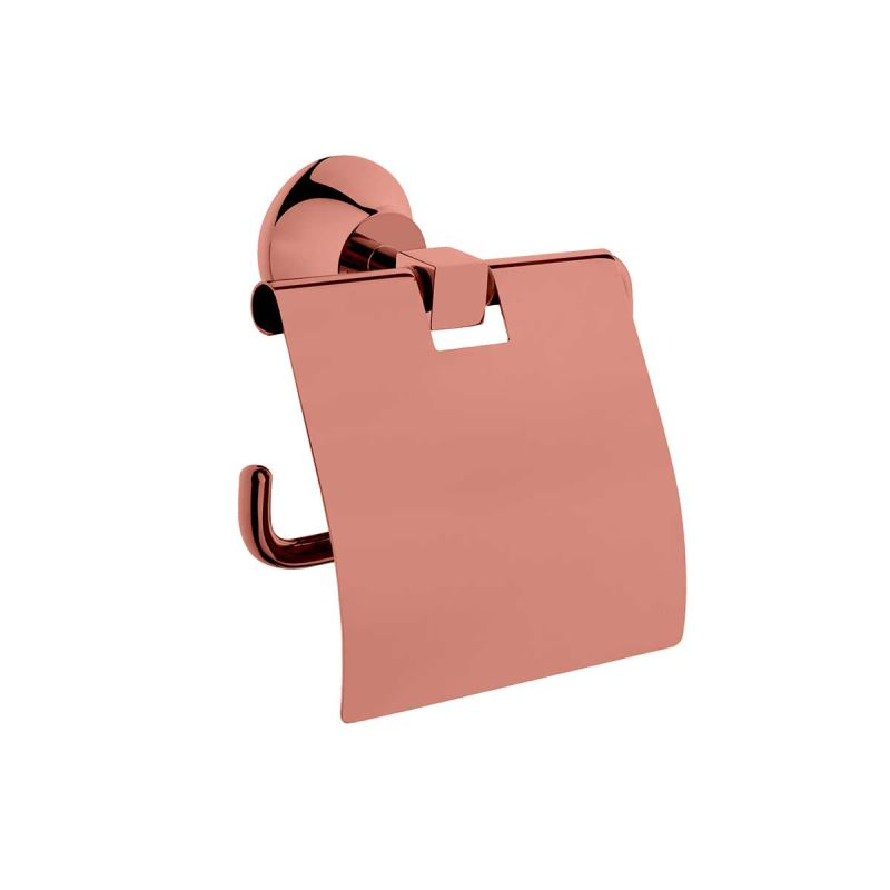 Juno Toilet Roll Holder Copper