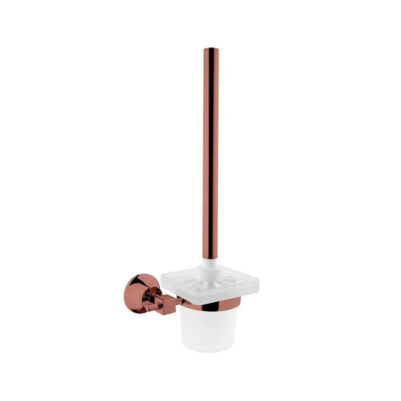 Juno WC Brush Holder Copper