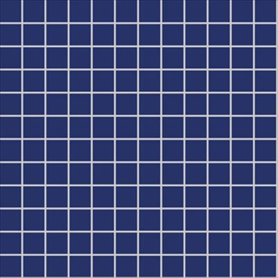 2.5x2.5 Pro Color RAL 5002 Cobalt Blue Mosaic Glossy
