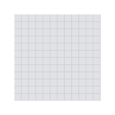 2.5x2.5 Pro Color RAL 7047 Light Grey Mosaic Glossy