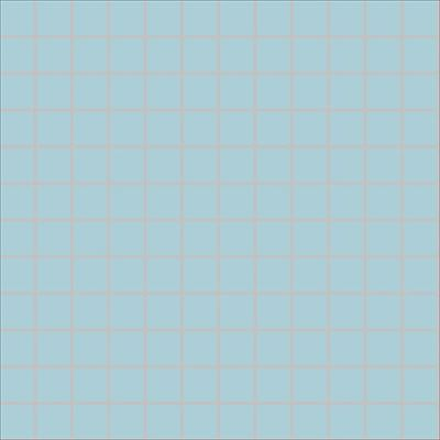 2.5x2.5 Pro Color RAL 2307015 Pool Blue Mosaic Glossy