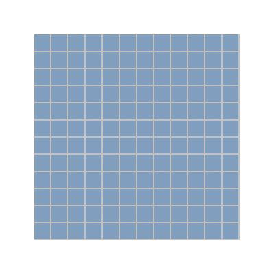 2.5x2.5 Pro Color RAL 2606030 Cold Blue Mosaic Glossy
