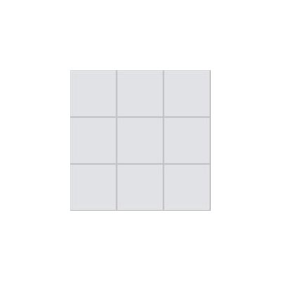10x10 Pro Color RAL 7047 Light Grey Mosaic Glossy