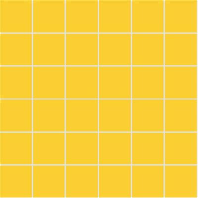5x5 Pro Color RAL 1018 Yellow Mosaic Glossy