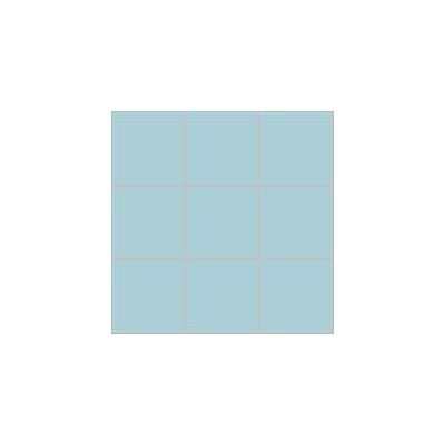 10x10 Pro Color RAL 2307015 Pool Blue Mosaic Glossy