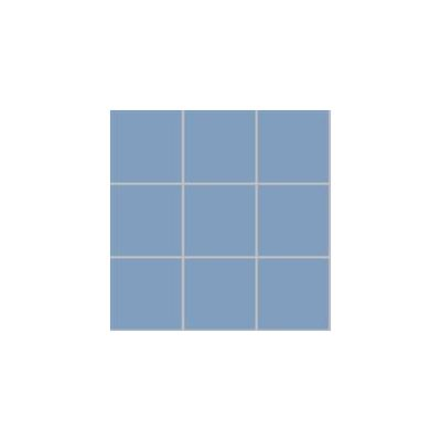 10x10 Pro Color RAL 2606030 Cold Blue Mosaic Glossy