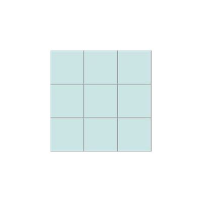 10x10 Pro Color RAL 2008020 Cyan Mosaic Glossy