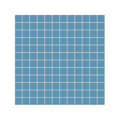 2.5x2.5 Pro Color RAL 2306020 Blue Mosaic Glossy