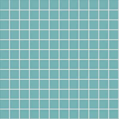 2.5x2.5 Pro Color RAL 2006020 Turquoise Mosaic Matt