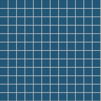 2.5x2.5 Pro Color RAL 2404020 Ocean Blue Mosaic Glossy
