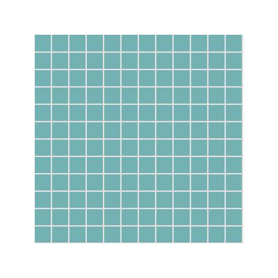 2.5x2.5 Pro Color RAL 2006020 Turquoise Mosaic Glossy