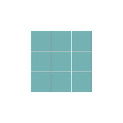 10x10 Pro Color RAL 2006020 Turquoise Mosaic Matt