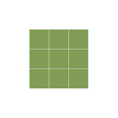 10x10 Pro Color RAL 1105050 Green Mosaic Glossy