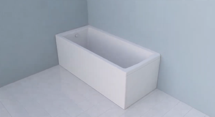 How to install a VitrA bathtub